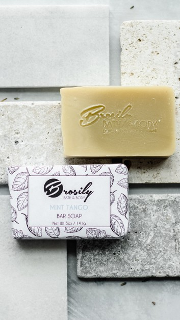 Mint Tango Luxury Aromatherapy Soap - orangeshine.com