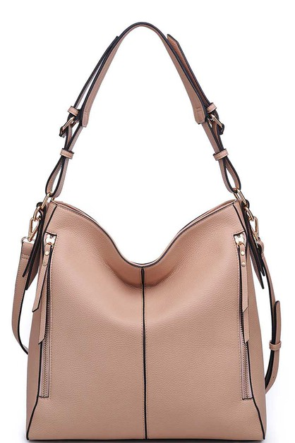 LUXURY CARRIE HOBO BAG - orangeshine.com