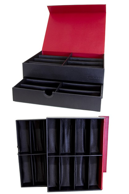 DoubleDeck sunglass case display box - orangeshine.com
