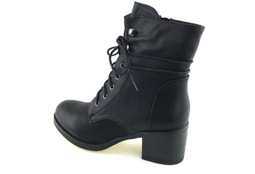 Women Lace Up Combat Boots - orangeshine.com