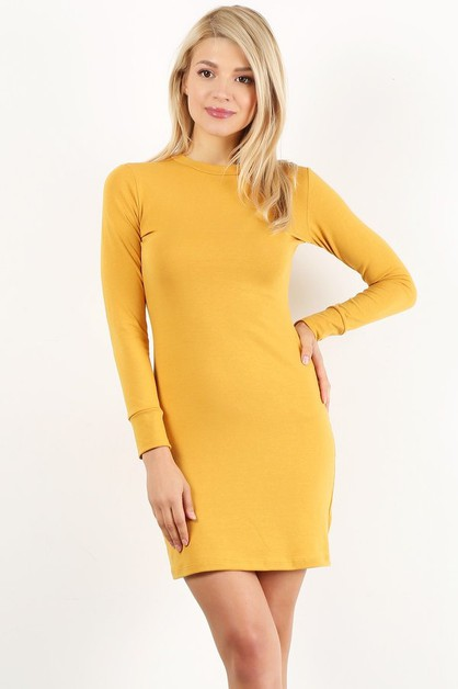 2034 cotton dress - orangeshine.com
