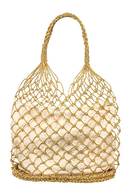 BEACH NET FASHION BAG - orangeshine.com