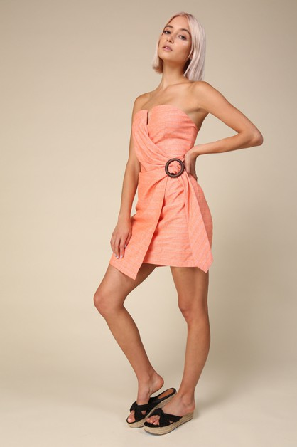 Zoe Tube Dress - orangeshine.com