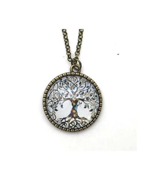 Braided Tree of Life Necklace - orangeshine.com