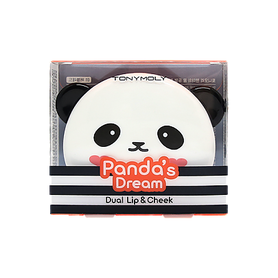 [Tonymoly] Panda Dual Lip & Cheek 01 - orangeshine.com