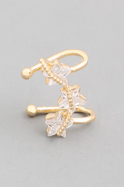 Mini Star Ear Cuff - orangeshine.com