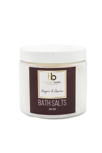 Sugar and Spice Bath Salts - orangeshine.com