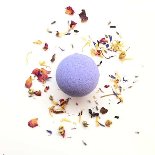 Lavender and Lemongrass Bath Bombs - orangeshine.com