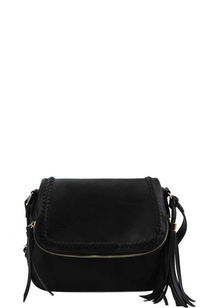 CHIC STYLISH TASSEL CROSSBODY BAG - orangeshine.com