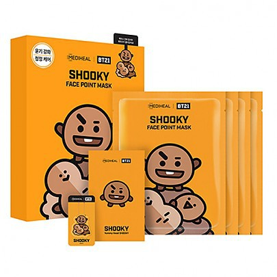 [Mediheal] BT21 SHOOKY MASK 4pcs - orangeshine.com