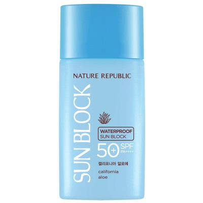[Nature Republic]Aloe Waterproof Sun - orangeshine.com