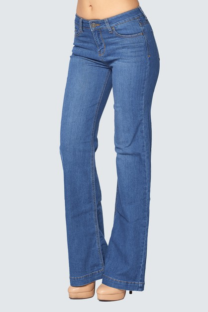 FLARED JEANS - orangeshine.com