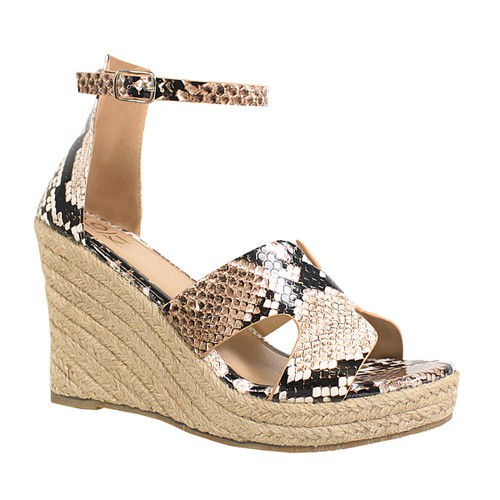 OPEN TOE ANKLE STRAP ESPADRILLE WEDGES - orangeshine.com