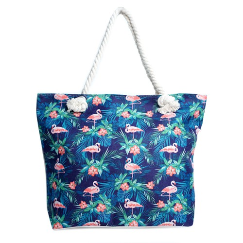 Tropical Leaves Ladies Tote Bag - orangeshine.com