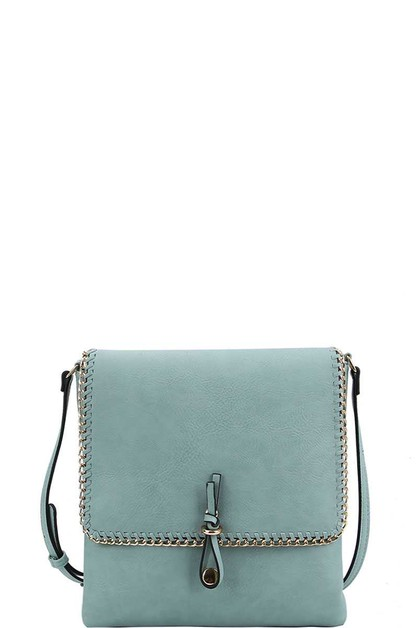 TRENDY CHAINED CROSSBODY BAG - orangeshine.com