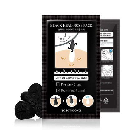 [TOSOWOONG] Blackhead Out Nose Pack - orangeshine.com