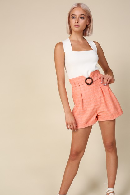 Zoe Shorts - orangeshine.com