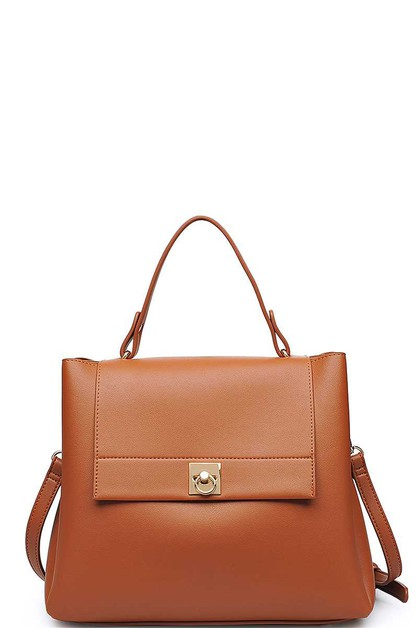 LUXURY JANE SATCHEL BAG  - orangeshine.com
