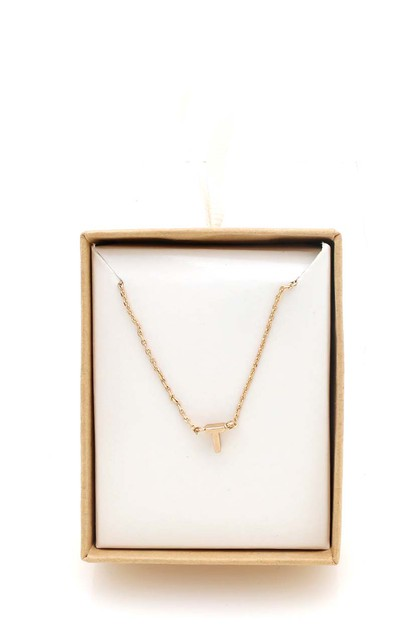 INITAIL NECKLACE  - orangeshine.com