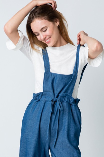 ADJUSTABLE WAIST OVERALLS - orangeshine.com