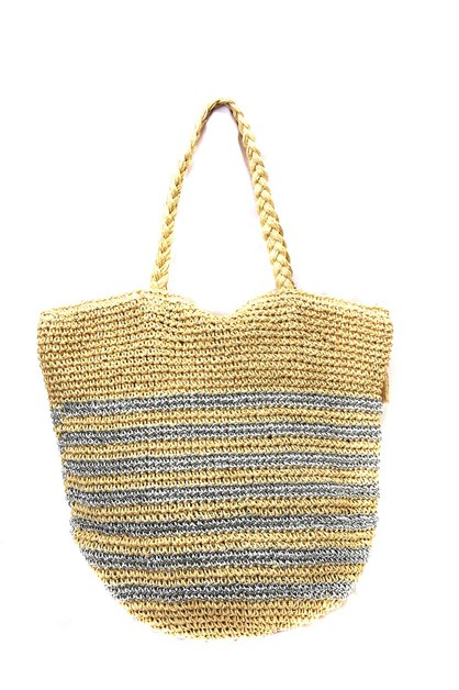 HAND MADE   PRINT BEACH BAG  - orangeshine.com