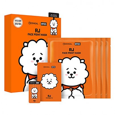 [Mediheal] BT21 RJ MASK 4pcs - orangeshine.com