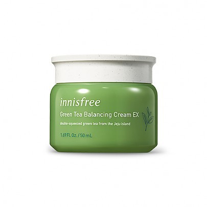 [Innisfree] Green tea balance cream - orangeshine.com