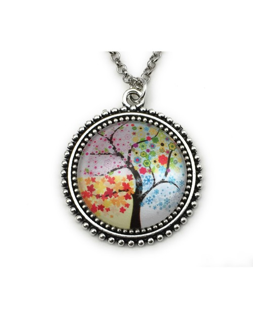Four Seasons Tree of Life Necklace - orangeshine.com