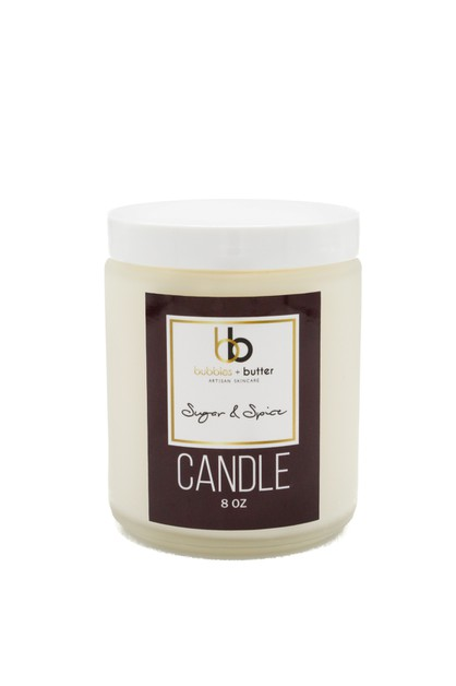Sugar and Spice Candle - orangeshine.com