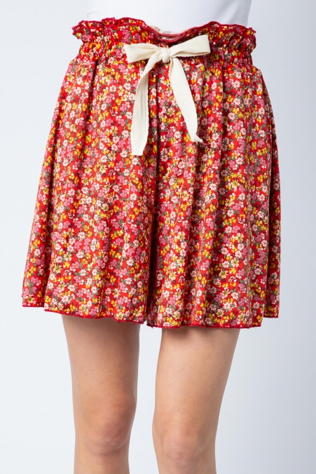 Floral Pattern shorts - orangeshine.com