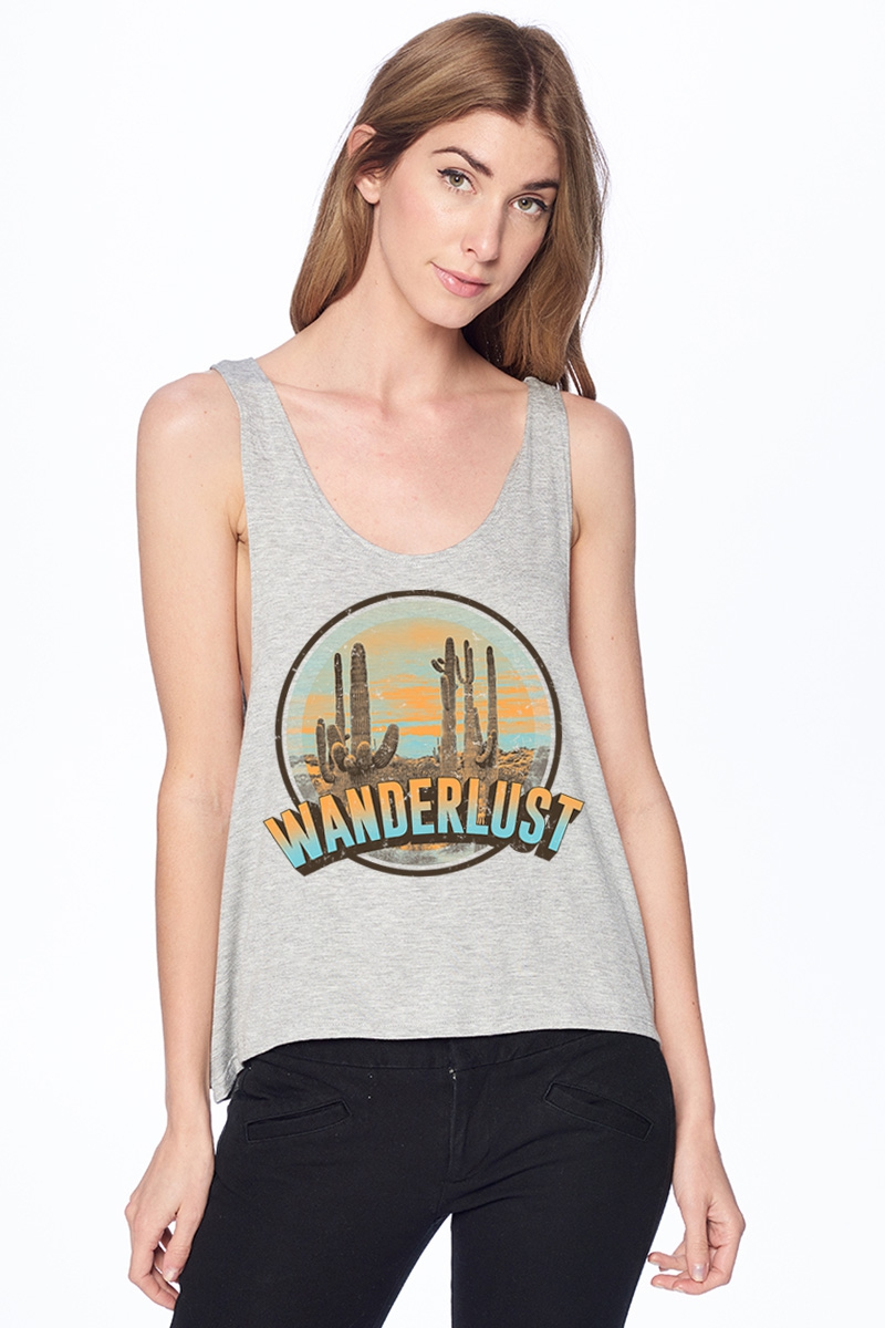 GRAPHIC TANK TOP - orangeshine.com