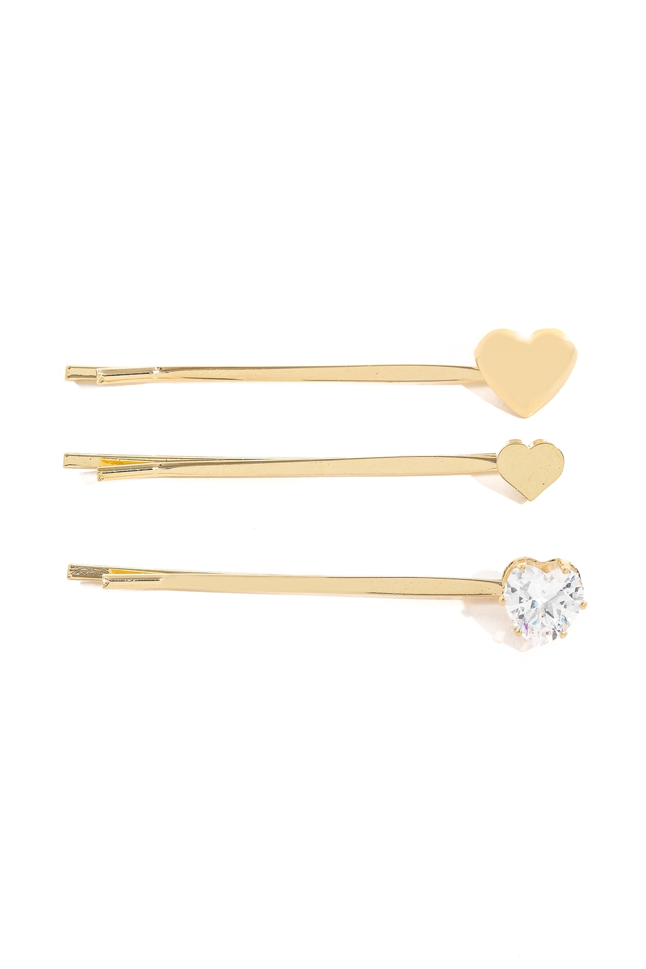 Cute Heart Hair Pins - orangeshine.com
