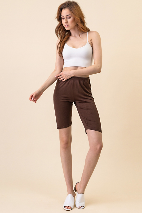 TIGHT AND STRETCH COTTON SHORTS - orangeshine.com
