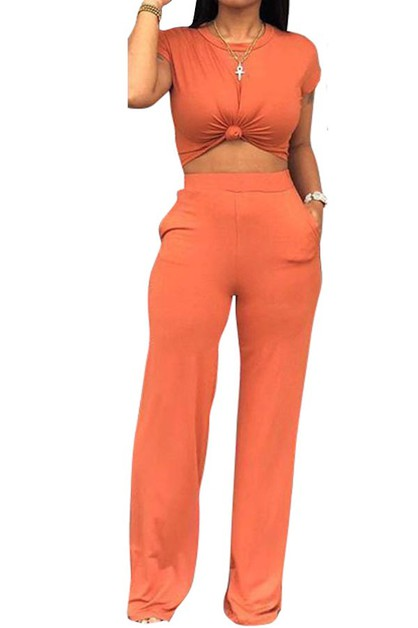 two  piece jumpsuit   - orangeshine.com