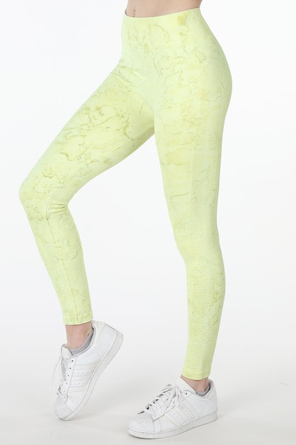 Marble Dye Leggings - orangeshine.com