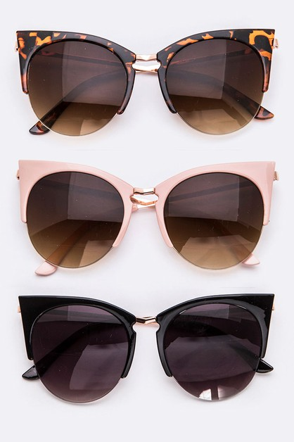 Extreme Iconic Cat Eye Sunglasses - orangeshine.com
