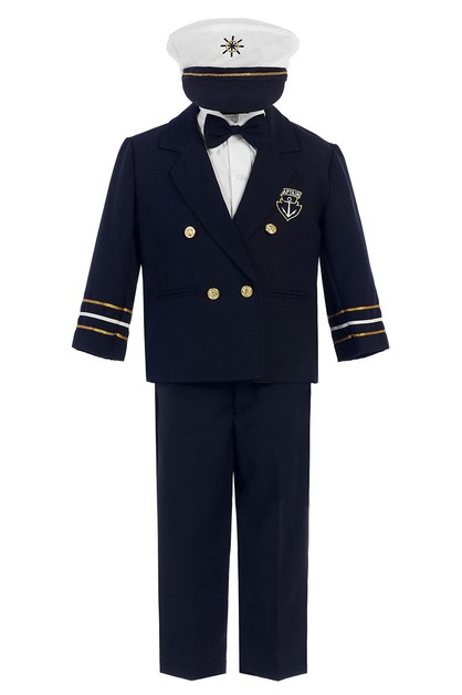 Boys Nautical Sailor Captain Set - orangeshine.com