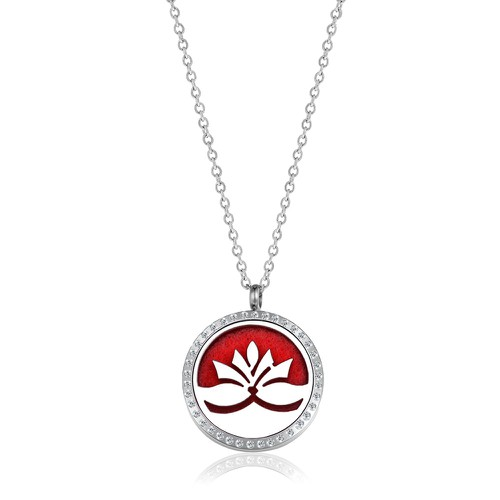 LARGE LOTUS NECKLACE - orangeshine.com