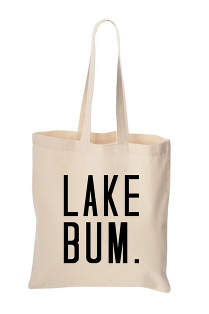 LAKE BUM TOTE BAG - orangeshine.com