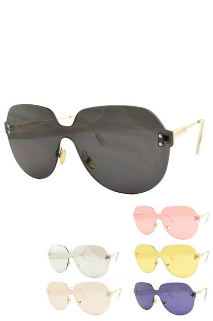 Oversize Square Iconic Sunglasses - orangeshine.com