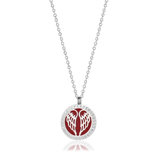 MED ANGEL WING NECKLACE - orangeshine.com