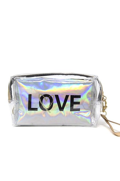 LOVE 2 PC Traveling Pouch - orangeshine.com