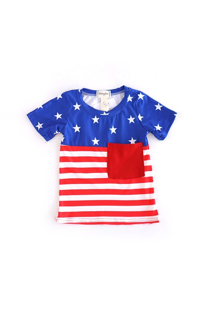 Patriotic Boy Shirt - orangeshine.com