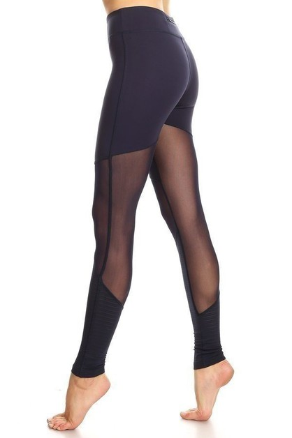 Mesh Up Legging - orangeshine.com