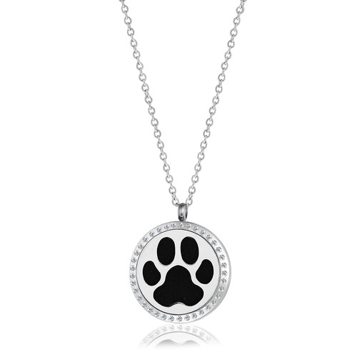 LARGE DOG PAW NECKLACE - orangeshine.com