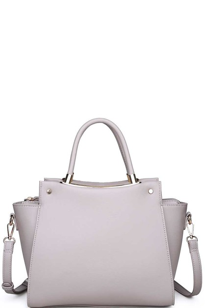 LUXURY GREYSON SATCHEL  - orangeshine.com