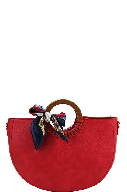 CUTE CHIC SCARF SATCHEL  - orangeshine.com