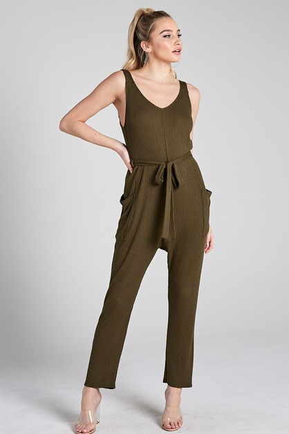 BAGGY POCKET JUMPSUIT - orangeshine.com