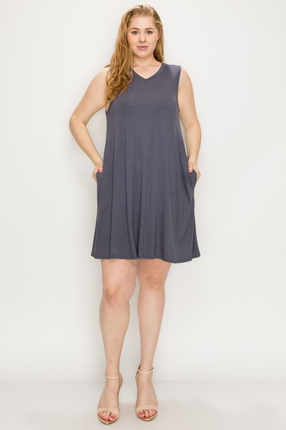 Plus Size Loose Fit Tunics Top - orangeshine.com