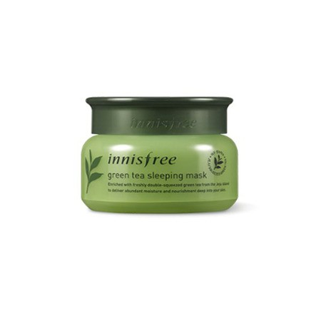 [Innisfree] Green tea sleeping mask - orangeshine.com
